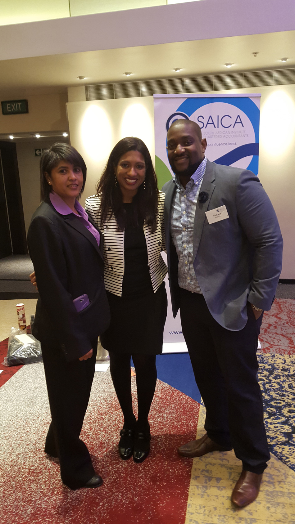 Event Speaker - SAICA Women in Leadership, Cape Town - October 2015