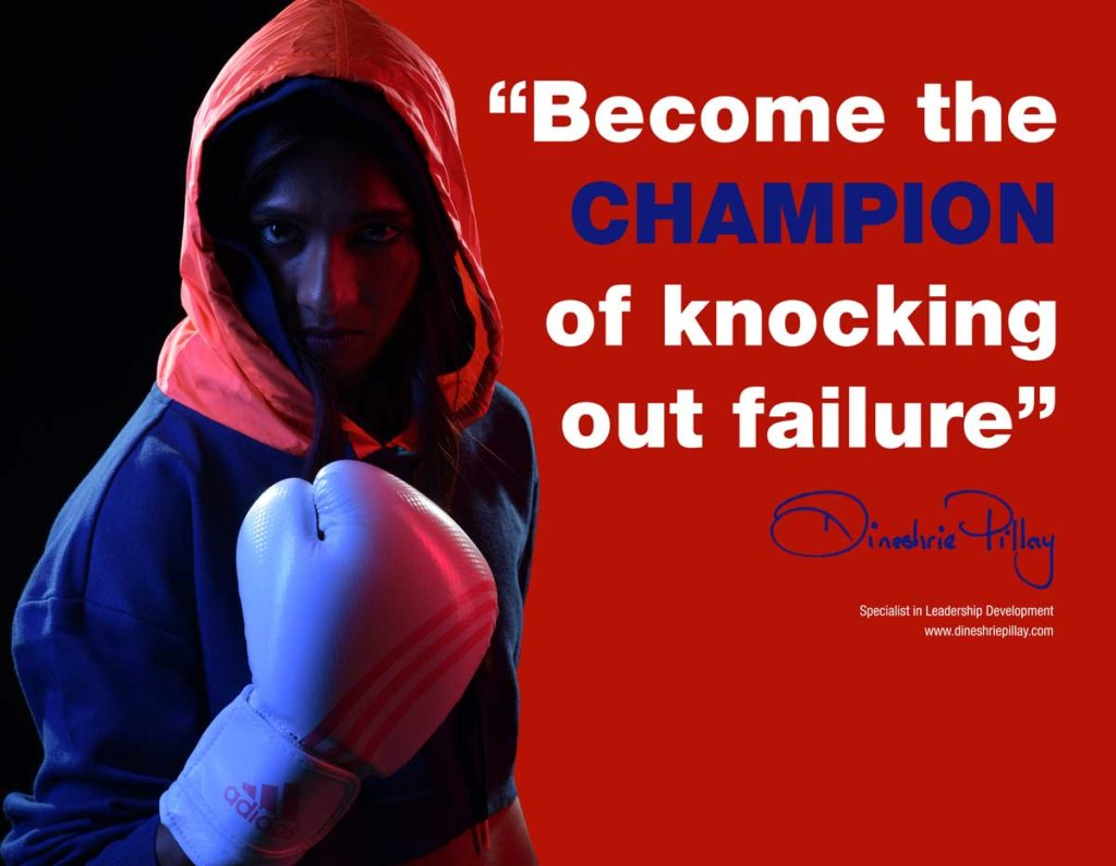 Become the champion of knocking out failure